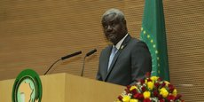 Moussa Faki Mahamat, président de la Commission de l'UA.