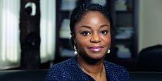 Cina Lawson, ministre togolaise de l'Economie numérique et des postes.