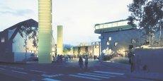 Le premier tiers-lieu du Grand Est. Une fois la rénovation de cet ancien dépôt de bus achevée, la capacité d'accueil passera de 120 résidents par jour à 400.