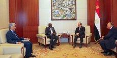Lors de leur rencontre du 17 mars à Assouan, Al Sissi et Moussa Mahamat ont convenu d'activer dans les brefs délais le Mécanisme africain sur le Sahara en appui à la médiation onusienne.