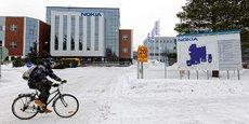 L'usine Nokia de Rusko, au nord-est d'Oulu, conçoit les infrastructures des futurs réseaux de téléphonie mobile 5G.