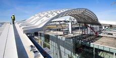 Parmi les derniers chantiers majeurs de Fondeville : la gare TGV de Montpellier, réalisée avec Icade Promotion