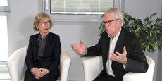 Geneviève Fioraso succède à Gilbert Casamatta à la présidence de l'IRT Saint Exupéry.