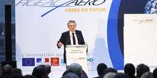 Jean-Claude Maillard, PDG de Figeac Aéro, pourrait passer la main d'ici quelques années.