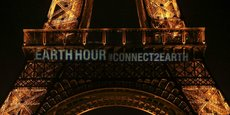 La Tour Eiffel sera éteinte ce samedi soir, à l'occasion de l'Earth Hour.