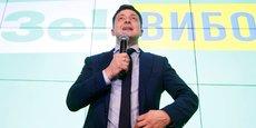 Désormais largement favori, Vladimir Zelenski a déclaré sa candidature au dernier moment.