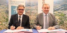 Le protocole de mise en œuvre de cet accord de coopération a été signé dans les locaux de Toulouse Métropole.
