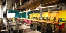Un nouvel espace de pause de 320 m2 et 40 places de coworking.