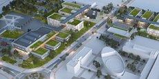 Le futur campus RTE s'étendra sur près de 30 000 m2