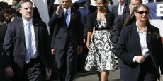 Le couple Obama à Honolulu - Copyright Reuters