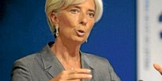 Christine Lagarde, directrice-générale du Fonds Monétaire International. Copyright Bloomberg