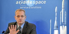 Le PDG d'Arianespace Jean-Yves Le Gall Copyright Reuters