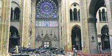 Le Groupement des entreprises de restauration des monuments historiques (GMH) a évoqué un délai raisonnable de dix à quinze ans.