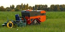 Le robot agricole Céol, créé par Agreenculture.