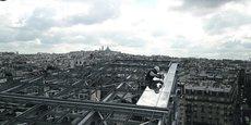 L'entreprise varadaise a construit une serre pédagogique dans le cadre du projet Clichy-Batignolles, Paris 17e.