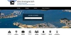 La région Bretagne a ouvert l'accès ses données publiques.