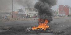 Cadjehoun, un quartier de la capitale économique du Bénin, Cotonou, porte encore les stigmates des violents affrontements du 1er mai 2019.