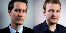 Erwan Davignon (à gauche) et Anthony Courtin ont créé leur entreprise, Business & DRH, en janvier 2012
