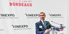 Rodolphe Lameyze, le nouveau directeur général de Vinexpo.