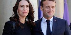 Jacinda Ardern et Emmanuel Macron