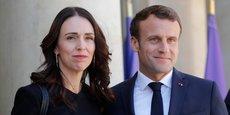 Jacinda Ardern, la Première ministre néo-zélandaise, était ce mercredi à Paris pour lancer l'appel de Christchurch, au côté d'Emmanuel Macron.
