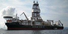 Les travaux de forage ont été effectués par le navire Poseidon par une profondeur d'eau de 1 066 mètres.