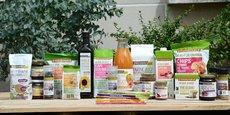 L'entreprise propose une gamme de plus de 150 produits biologiques.