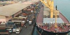 Les activités du port autonome de Cotonou participent à 90% des échanges commerciaux.