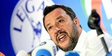 Le vice-Premier ministre italien Matteo Salvini.