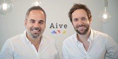 Les deux fondateurs de AIVE à Montpellier, Rudy Lellouche et Olivier Reynaud.