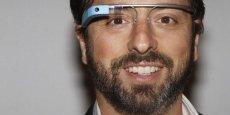 Sergueï Brin, co-fondateur de Google, arborant les lunettes fabriquées par le géant de Mountain View.