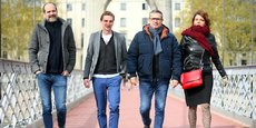 Marc Renau, Baptiste Rollet, Sébastien Rousset et Magali Paliard-Morelle demeurent les quatre actionnaires principaux du groupe de médias, services et événements Unagi nouvellement créé.