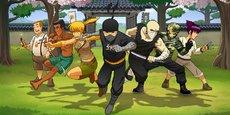 Déjà 70 000 exemplaires téléchargés du jeu Reign of the Ninja