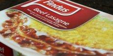 Les lasagne Findus au boeuf contenant de la viande de cheval / Copyright Reuters