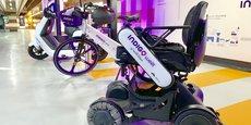 Quatre fauteuils roulants électriques sont désormais en libre-service à Toulouse.