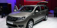Dacia Logan break  au salon de Genève 2013. Copyright Renault