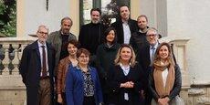 Le jury de « Transformons la France » qui désignera, le 12 juin, au Salon des entrepreneurs, les huit lauréats de l'édition 2019.