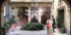 Installation « Showcase » à l'hôtel d'Hortoles