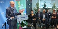 Dans sa majorité municipale, le maire de Toulouse, Jean-Luc Moudenc, compte des élus LREM et du Modem.