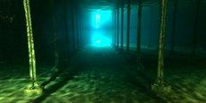 Le réservoir situé rue Paulin, à Bordeaux, peut contenir 13.000 m3 d'eau potable pour un surface au sol de 6.500 m2.