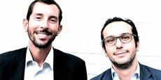 Cédric Teissier et Arthur de Catheu, les cofondateurs de Finexkap.