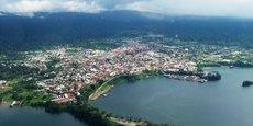 Malabo, capital de la Guinée équatoriale.
