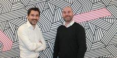 Thomas Artiguebieille et Samuel Leblond sont les deux cofondateurs de We Advocacy, une jeune pousse grenobloise qui veut transformer la communication interne des entreprises en utilisant l'email.