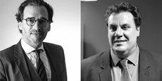 Laurent Mathiolon, fondateur et président de Aqprim, et Stéphane Deguara, dirigeant de l'agence monptelliéraine.