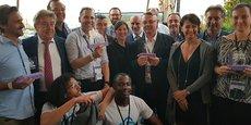Les start-ups gagnantes du Train de la French Tech 2019.