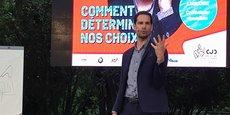 Le mentaliste Rémi Larrousse a démonté les mécanismes de la prise de décision, thème de la soirée du CJD Montpellier