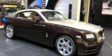 Rolls Royce Silver Wraith.  Copyright Palexpo-salon de Genève