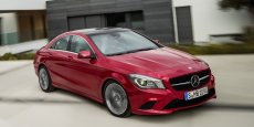 Mercedes CLA Copyright Mercedes