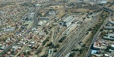 Windhoek, la capitale de Namibie, compte 326 000 habitants (chiffres de 2011 de l'ONU).