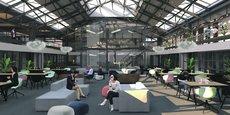 Ce nouveau lieu sera notamment doté de salles de créativité, d'espaces de « coworking » et d'un centre de conférences.